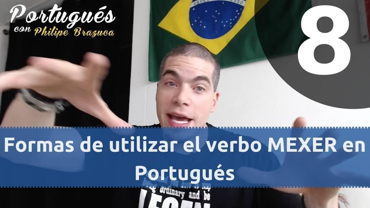 significado del verbo mexer en portugués