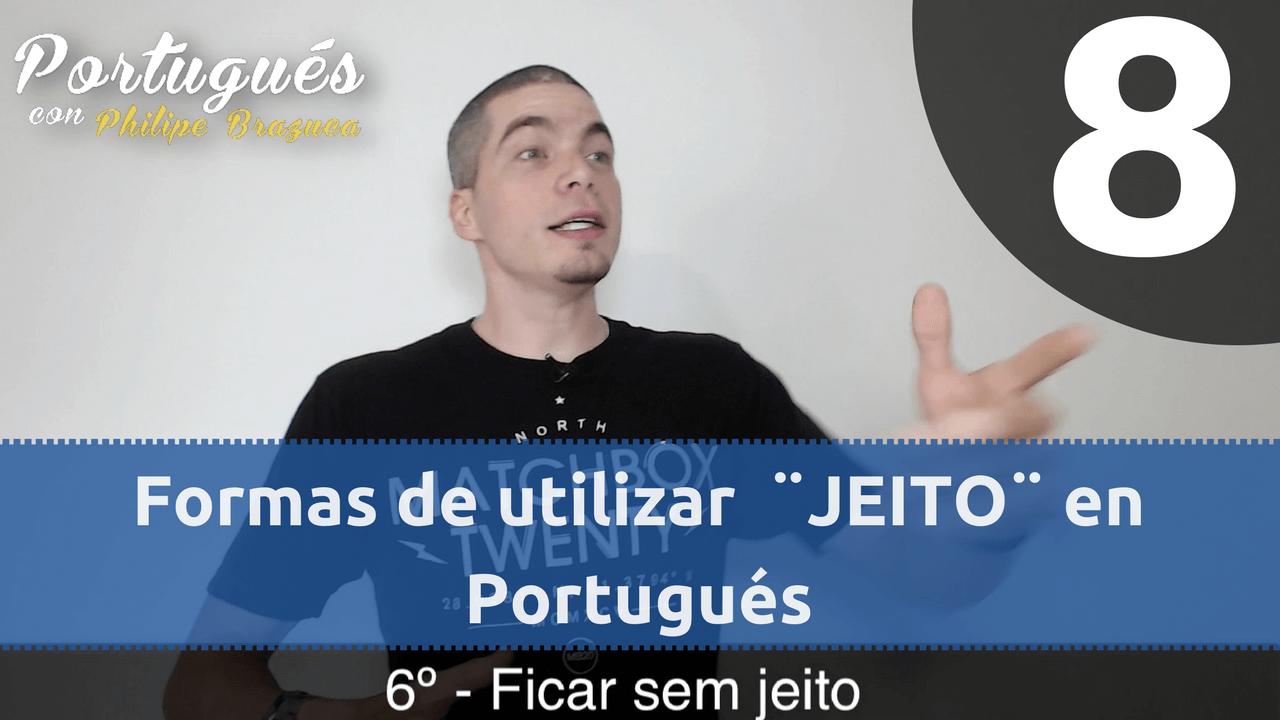 que significa jeito en portugués