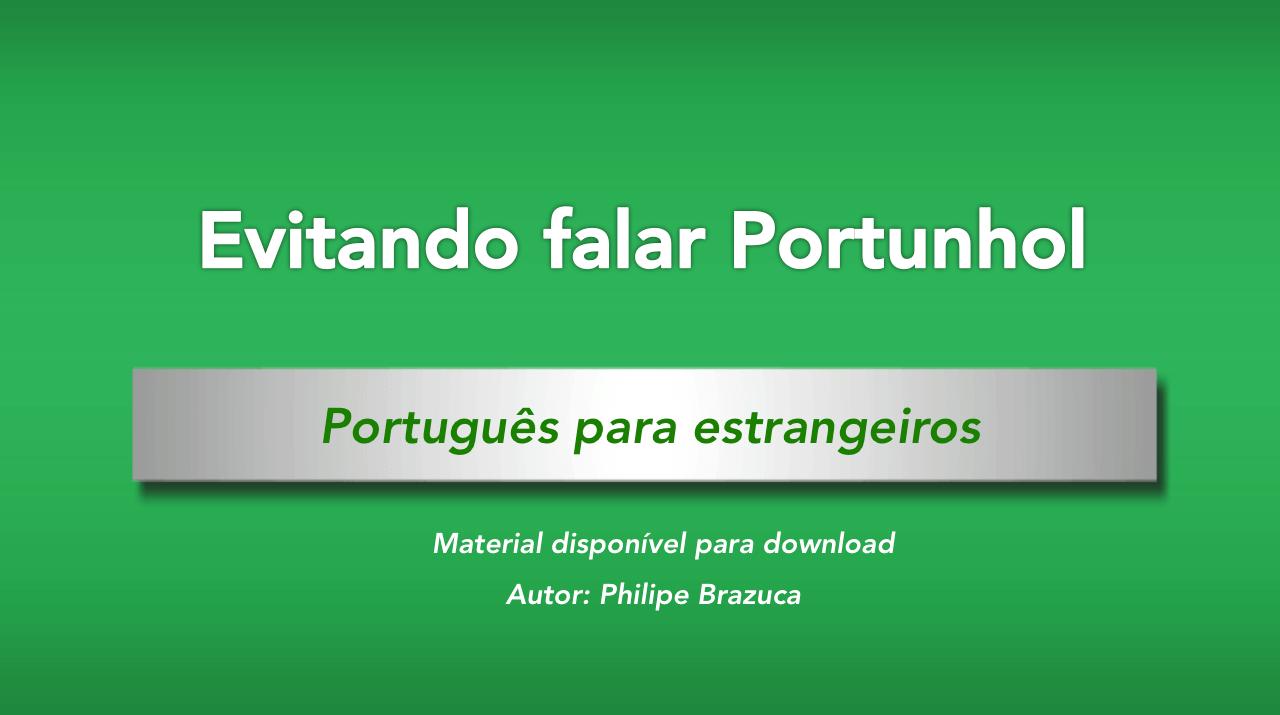 como evitar hablar portuñol