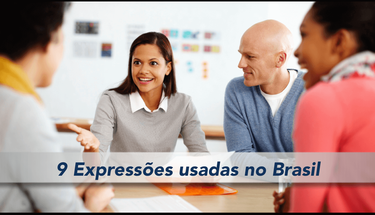 expresiones en Portugués de Brasil