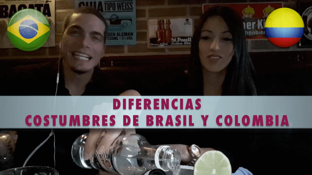 costumbres de brasil y colombia y sus diferencias