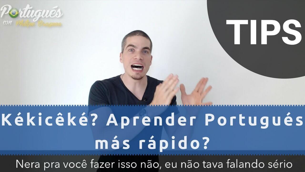 tips para hablar portugués más rápido