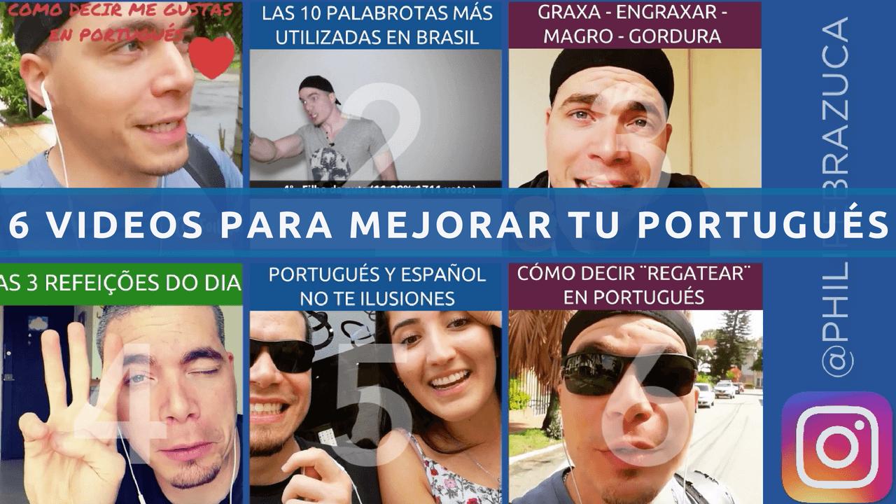 6 videos con recomendaciones para mejorar tu Portugués