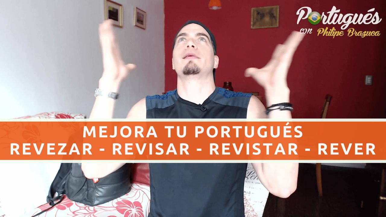 aprende algunos verbos en portugués y habla más fluido