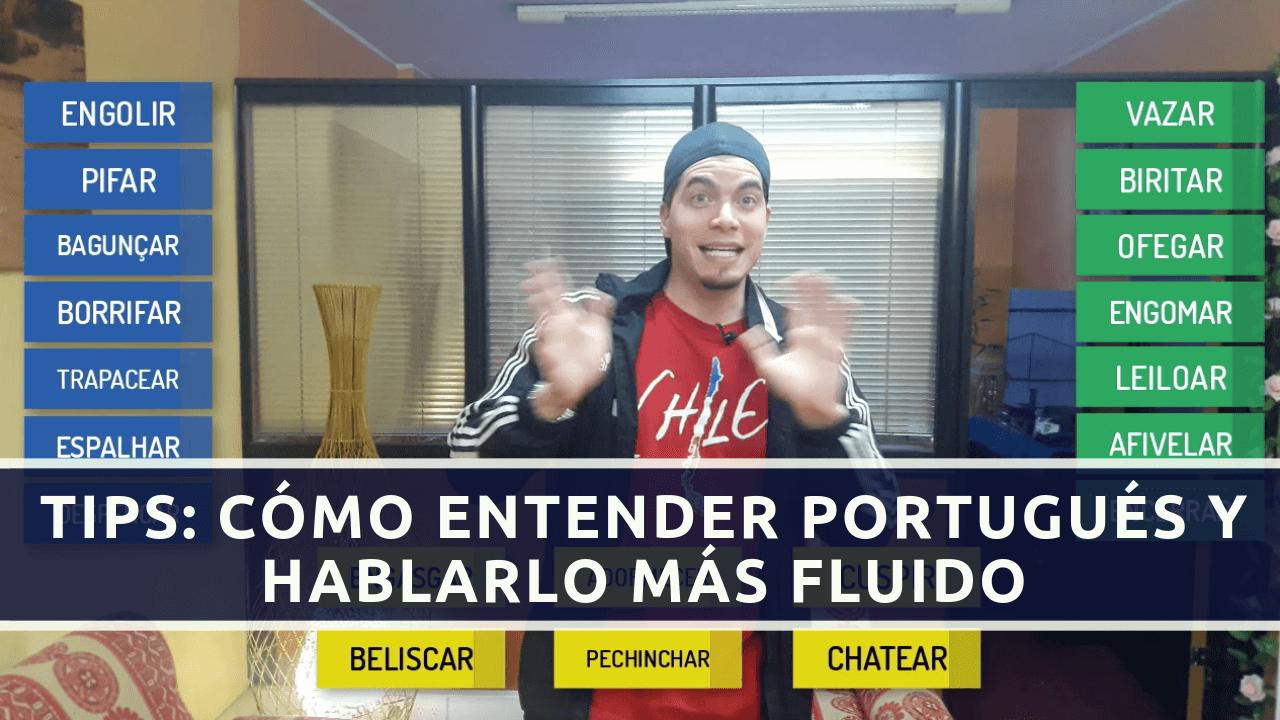 entender y hablar portugués más rápido
