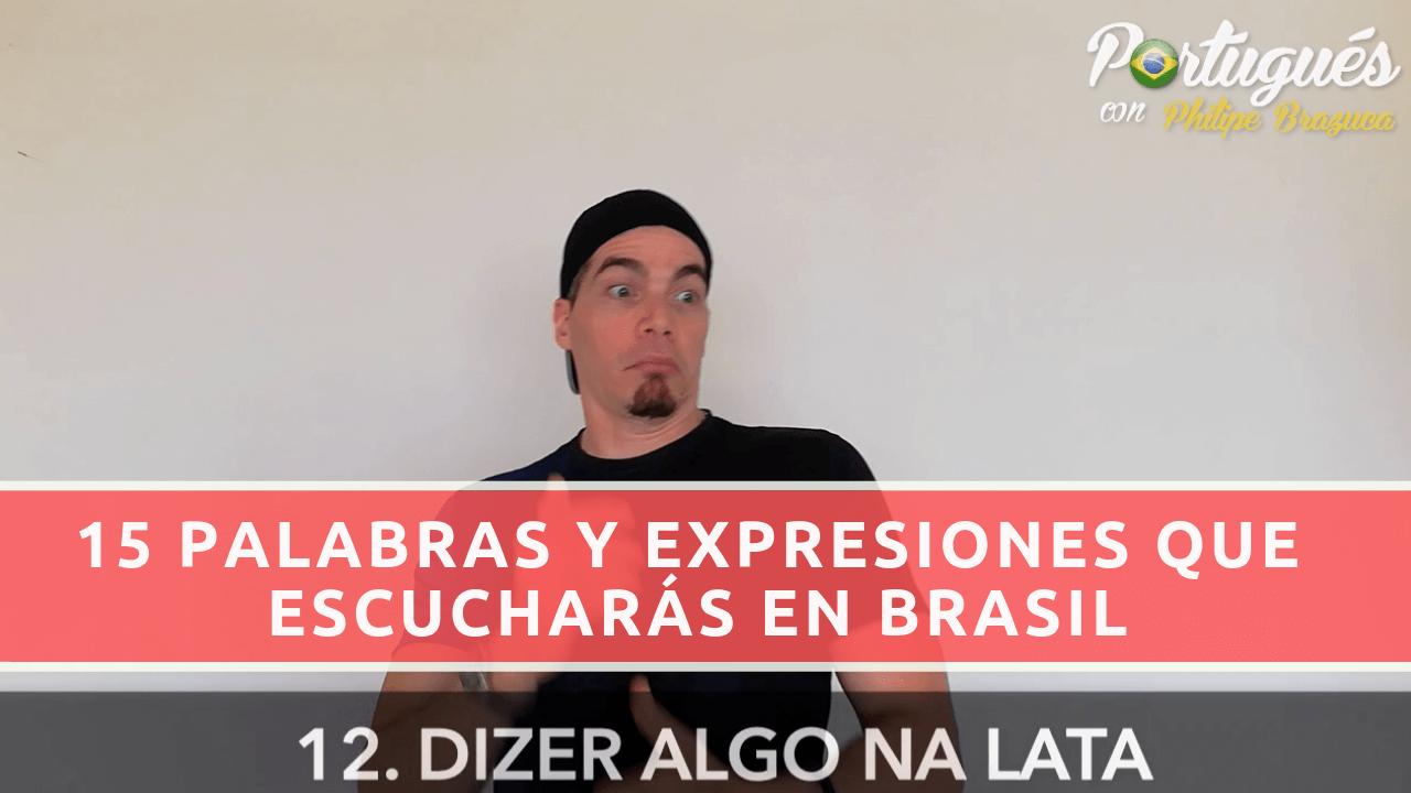 expresiones utilizadas brasil