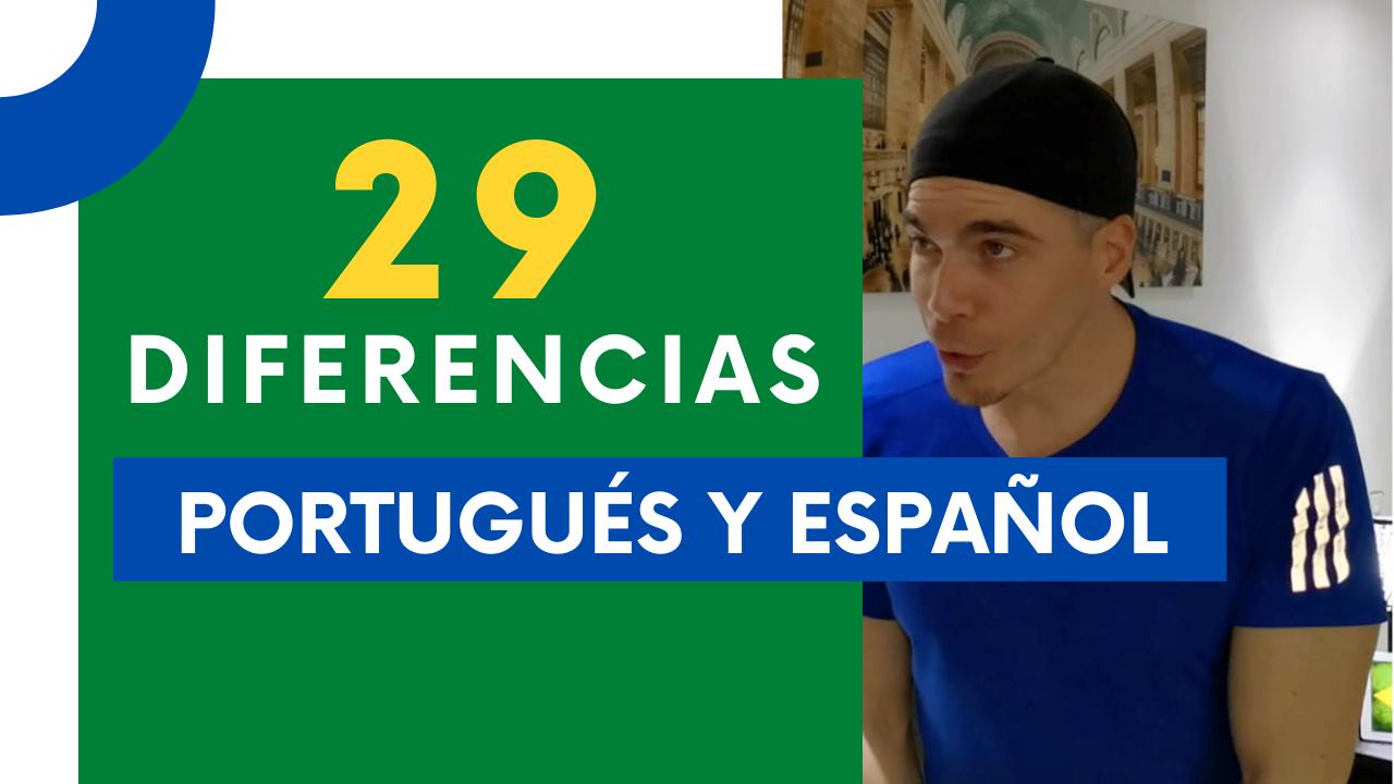 diferencias entre portugues y español
