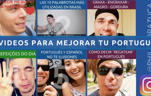 ⭐ 6 videos con Tips y Clases de Portugués con Philipe Brazuca - Instagram