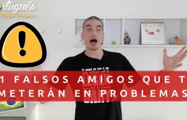 11 falsos amigos en Portugués que te harán pasar vergüenza