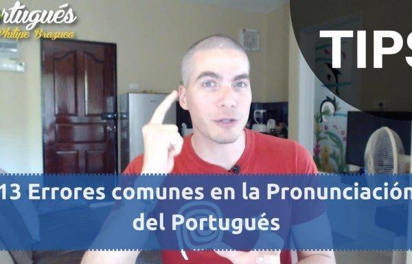 13 tips de pronunciación en Portugués