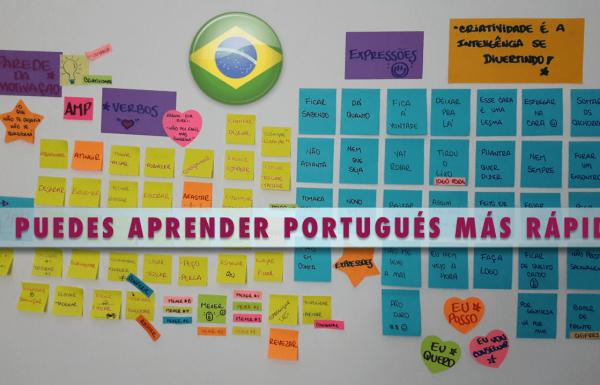 Como aprender palabras y expresiones en Portugués Brasileño