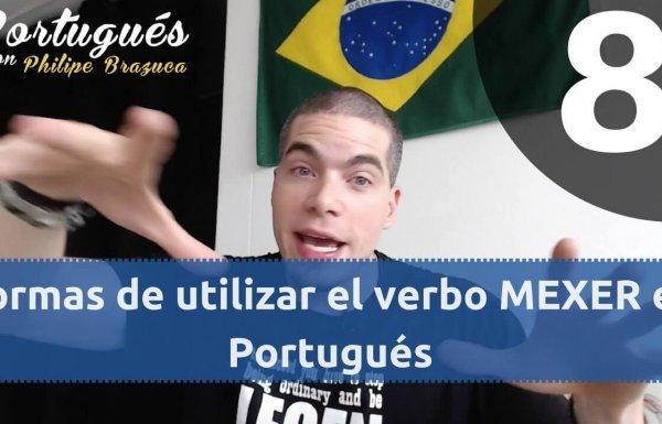 Vocabulario en Portugués - Verbos MEXER
