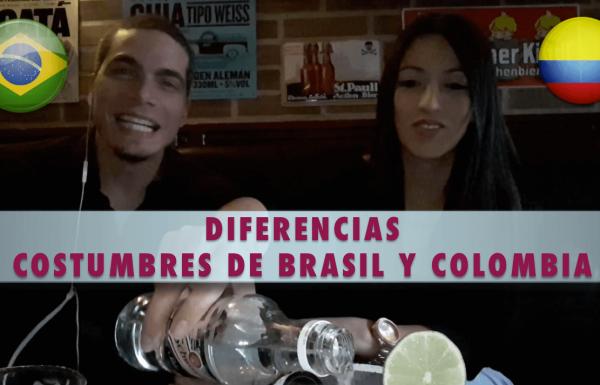 Costumbres de Brasil - Diferencias entre Brasil y Colombia