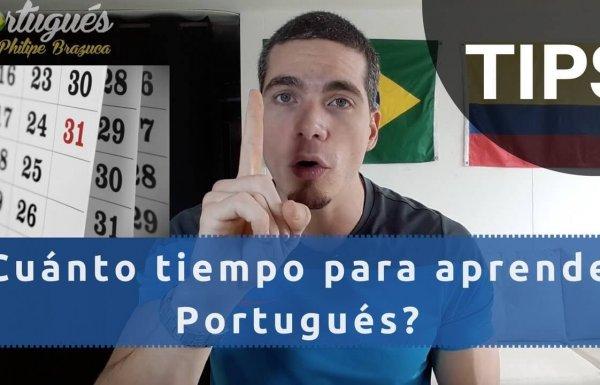 ¿Cuánto tiempo para aprender Portugués?