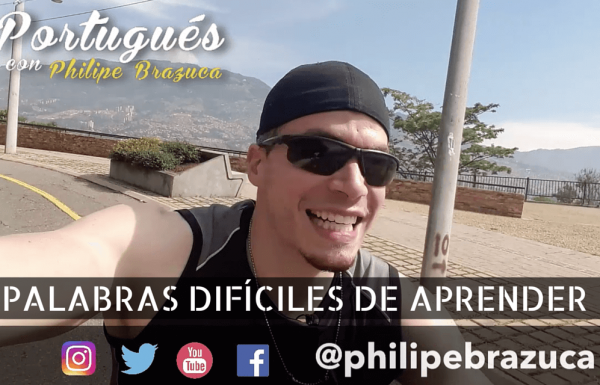 Palabras difíciles en Portugués Brasileño