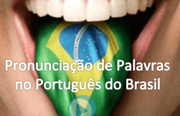 Pronunciación en Portugués de Brasil