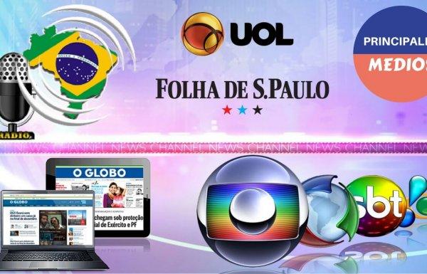 Principales canales de comunicación de Brasil